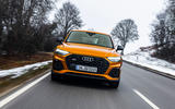 19 Audi SQ5 2021 first drive review on road front