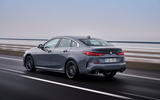 BMW 2 Series Gran Coupe 220d 2020 first drive review - on the road rear
