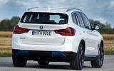 BMW iX3 2020 first drive review - cornering rear