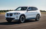 2020 BMW iX3 - hero front