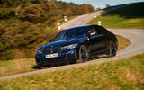 BMW M340i xDrive 2019 first drive review - cornering front