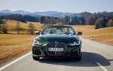 19 BMW M440i Convertible 2021 first drive review on road nose