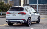BMW X5 2019 first drive review city driving rear