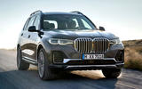 BMW X7 2019 first drive review - on the road front