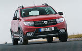 Dacia Sandero Stepway Techroad 2019 first drive review - crest
