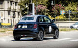 Fiat 500 electric 2021 first drive review - on the road rear
