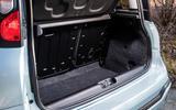 Fiat Panda Cross Hybrid 2020 first drive review - boot