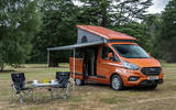 19 Ford Transit Nugget 2021 UK FD static front