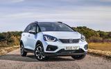 Honda Jazz Crosstar 2020 UK first drive review - static front