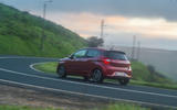 Hyundai i10 2020 first drive review - cornering rear