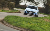 19 Hyundai i20 N 2021 UK first drive review on road front