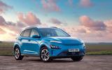 19 Hyundai Kona Electric 2021 UK first drive review static