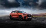 19 Jaguar F Pace SVR 2021 UK first drive review static
