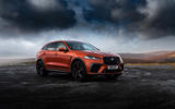 19 Jaguar F Pace SVR 2021 UK first drive review static
