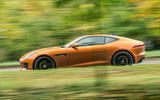 Jaguar F-Type MY2018 first drive review - on the road side