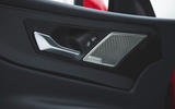 Jaguar XE P300 2019 first drive review - door cards