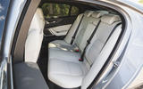 Jaguar XE P300 2019 UK first drive review - rear seats
