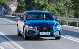 Jaguar XF - front
