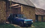 19 JIA Range Rover Chieftain 2021 UK FD static