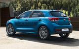 Kia Rio 2020 - static rear