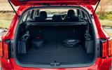19 Kia Sorento PHEV 2021 UK first drive review boot