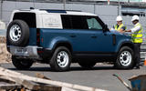 Land Rover Defender Hard Top - static rear