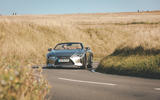 Lexus LC Convertible 2020 UK first drive review - on the road front