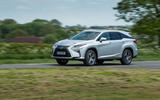 Lexus RX 450hL 2018 review on the road front