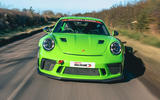 Manthey 911 GT3 RS MR 2020 first drive review - on the road nose
