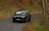 Maserati Levante GranSport V6 2018 first drive - cornering front
