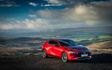 Mazda 3 2019 UK first drive review - static front