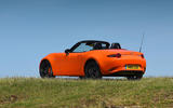 Mazda MX-5 30th Anniversary Edition 2019 UK first drive review - static rear