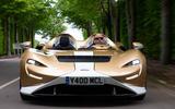 19 McLaren Elva 2021 UK FD on road front