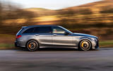 Mercedes-AMG C63 S Estate 2019 first drive review - on the road right