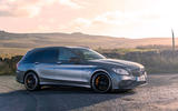 Mercedes-AMG C63 S Estate 2019 first drive review - static front