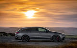Mercedes-AMG CLA 45 S Shooting Brake 2020 UK first drive review - static side