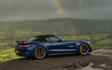 Mercedes-AMG GT R Roadster 2019 UK first drive review - static rear