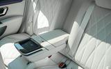 19 Mercedes Benz EQS 2021 UK LHD FD rear seats