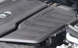 19 Mercedes S Class S400d 2021 UK FD engine