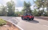 Nissan Juke 2019 first drive review - cornering rear