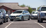 Nissan Leaf 2nd generation (2018) long-term review carpark