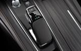 Peugeot 508 Hybrid4 2020 first drive review - gearstick