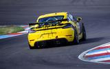 Porsche 718 Cayman GT4 Clubsport 2020 - hero rear