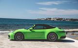 Porsche 911 Cabriolet 2019 first drive review - roof closed