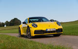 Porsche 911 Carrera 2019 first drive review - static front