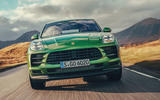 Porsche Macan 2019 first drive review - on the road nose