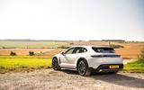 19 Porsche Taycan Cross Turismo 4S 2021 UK FD static rear