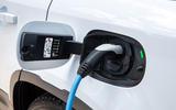 19 Rover Defender PHEV 2021 UK FD charging port