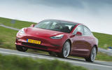 Tesla Model 3 Performance 2019 first drive review - on the road front