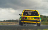 19 Tolman Talbot Sunbeam Lotus 2021 first drive review on track rear